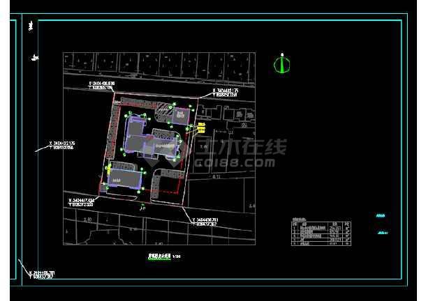 广社乡公安派出所室外工程设计植物设计图-图3