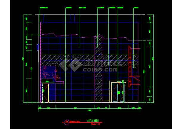 国际电影院建筑施工cad设计方案图纸-图1