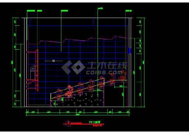 国际电影院建筑施工cad设计方案图纸-图2