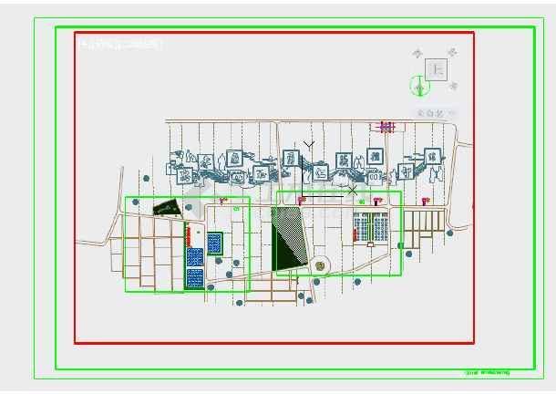 某村田园综合体旅游生态景观工程施工图-图2