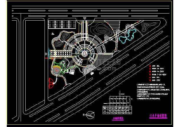 某景观照明系统cad设计施工图合集-图1