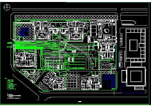 某景观照明系统cad设计施工图合集-图2