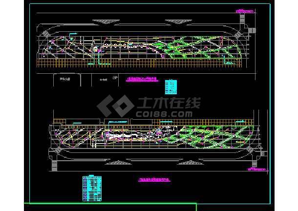 某景观照明系统cad设计施工图合集-图3