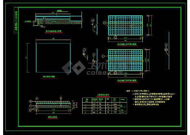 某钢架拱型桥全套CAD图纸设计图-图2