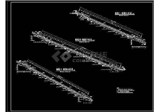 非常全的桥梁结构cad设计平面图纸-图3