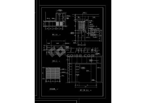 实用居住家庭室内装修设计CAD图-图3