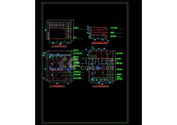 某雅居室内家庭装修设计cad平面图-图2