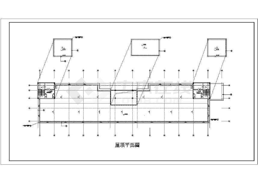 某地小型的娱乐城建筑图(共12张)-图2
