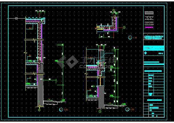 北京玻璃台村新农村别墅设计全套CAD图纸-图3