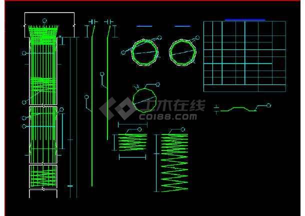 某地预应力空心板桥梁结构cad施工图纸-图2