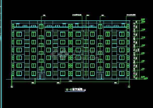 某市文化娱乐中心平面建筑CAD设计施工图-图1