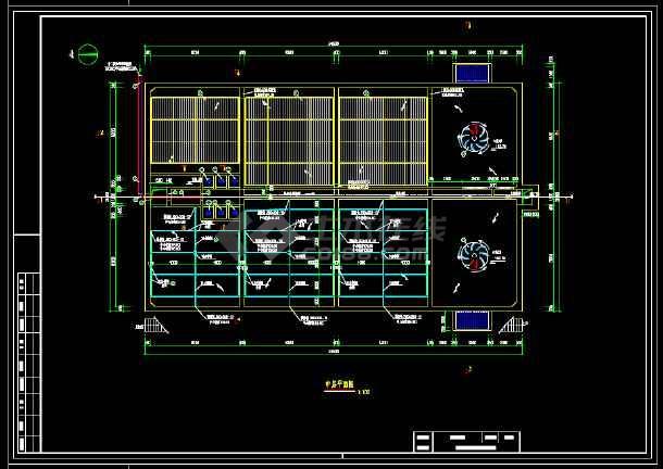 某污水厂生化池(A/O)工艺图-图2