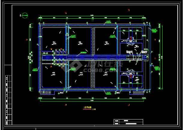 某污水厂生化池(A/O)工艺图-图3
