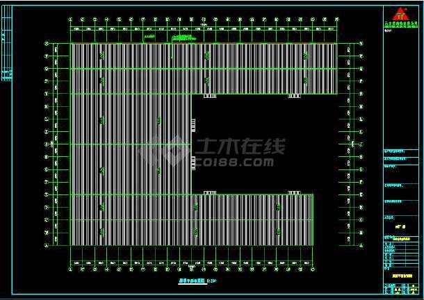 安微晨旺钢结构工程CAD面积设计图cad方案图v工程图片
