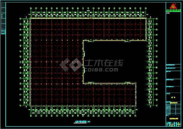 安微晨旺钢结构方案CAD工程设计图cad标注梁如何图片