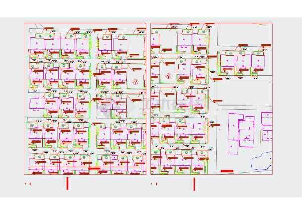 星华东区、红星公寓绿化提升工程施工图-图1