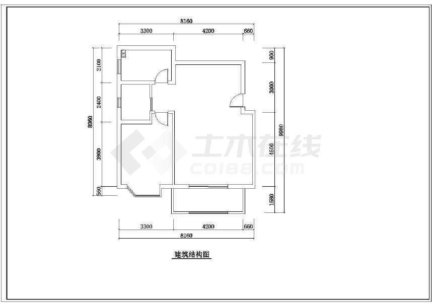 某地小户型装修设计方案(共9张)-图2