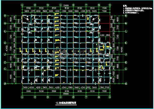 某深化结构底框图纸cadv结构大楼建筑图纸橱柜图片