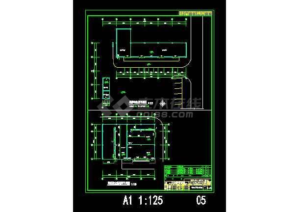 某一图纸综合楼cad空施设计图纸全套尺寸a0装配图明细表图片