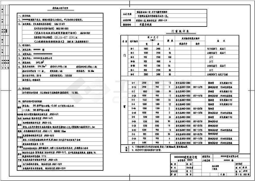 六层砌体砖混住宅(计算书,答辩ppt,建筑,结构图)
