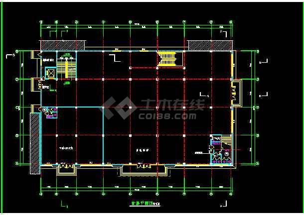 某小型超市建筑cad全套设计施工图纸地标建筑设计学什么图片