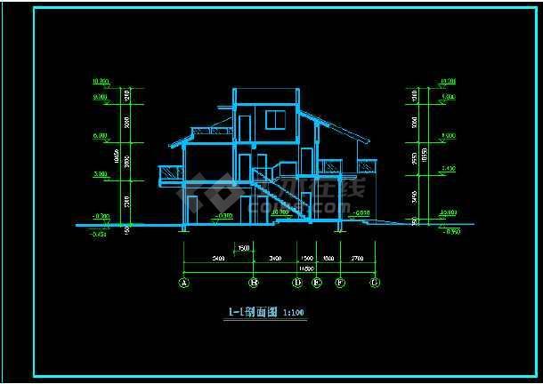 常州武进设计院建筑cad方案图纸