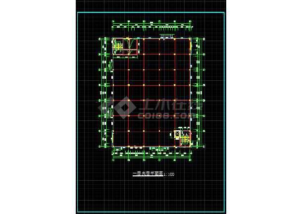 某大型医药厂房全套建筑设计施工图-图2