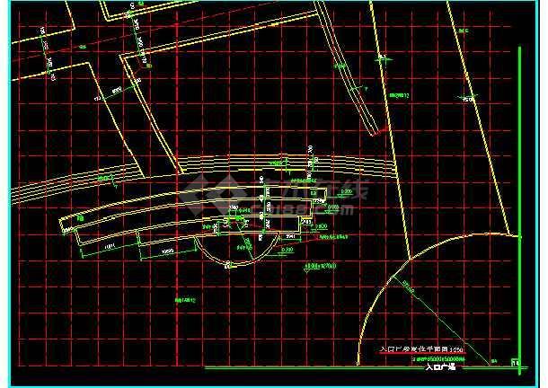 雕塑、休闲、城市广场建筑CAD设计施工图-图1