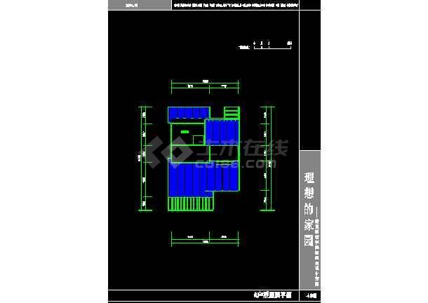 无锡市民用建筑设计院施工cad方案图纸