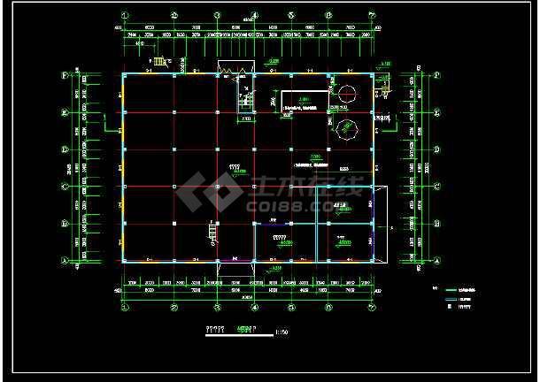 某十层厂车间楼全套建筑设计施工图-图1