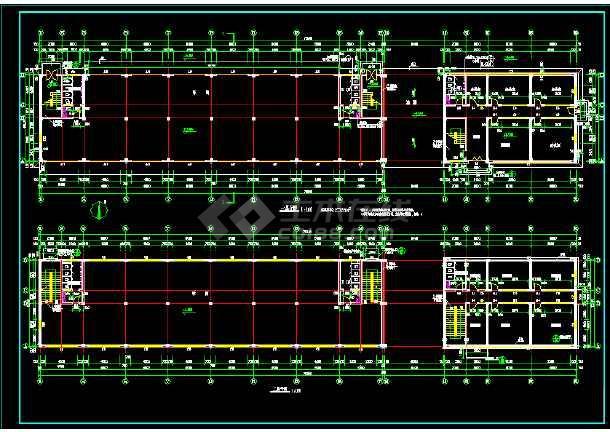 某三层厂房全套建筑设计施工方案图-图2