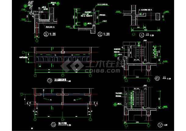 常用装修节点大样cad设计施工图-图3