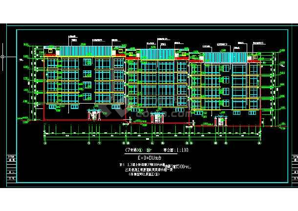 某小区住宅楼图纸建筑施工cadv小区平面方案装修公司设计师谈单话术大全图片