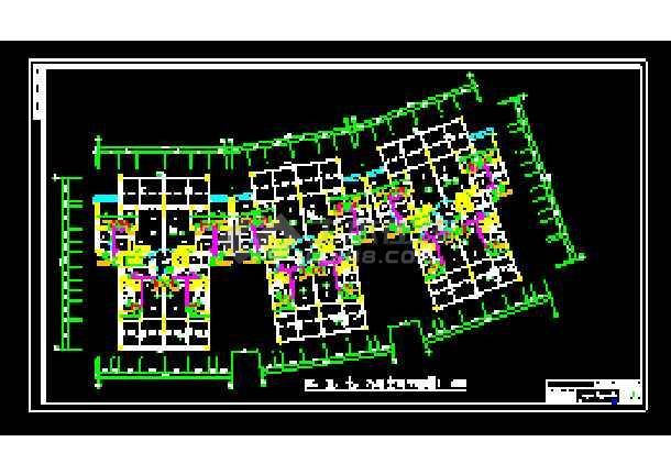 某地全套家庭中央空调cad施工设计图纸-图1
