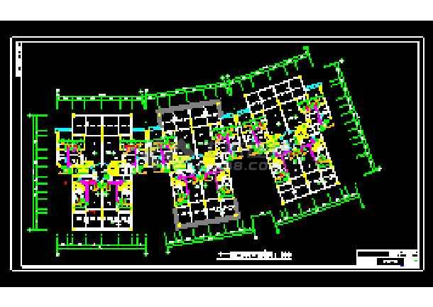 某地全套家庭中央空调cad施工设计图纸-图2