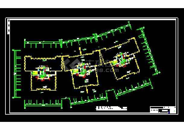 某地全套家庭中央空调cad施工设计图纸-图3