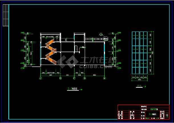 某市某豪华别墅建筑cad设计施工图-图2