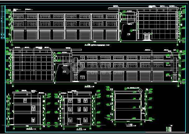 某大型商业综合楼建筑设计方案全套CAD图纸-图1