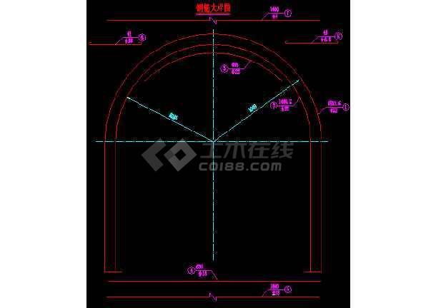 某公路过水隧道设计全套cad施工图纸-图2