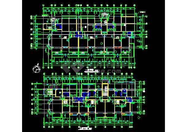 江苏某地多层住宅楼建筑CAD设计方案图-图2