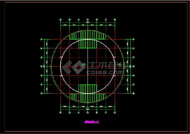 会所建筑施工设计CAD全套方案图纸-图3