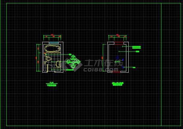 室内装修餐桌、办公桌素材CAD图库-图3