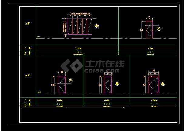 某度假别墅村总统套房全套cad建筑施工图-图1