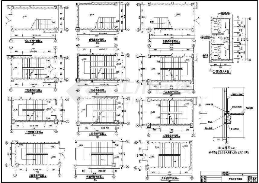 某地厂房宿舍楼建筑结构施工图设计-图2