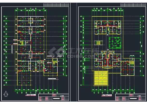 某商住楼电气设计CAD施工全套图纸-图2