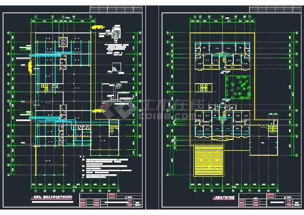 某商住楼电气设计CAD施工全套图纸-图3