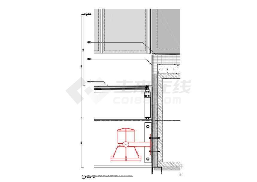 深圳某地证券交易所室外图纸灯光照明方案v图纸钢结构细化图纸图片