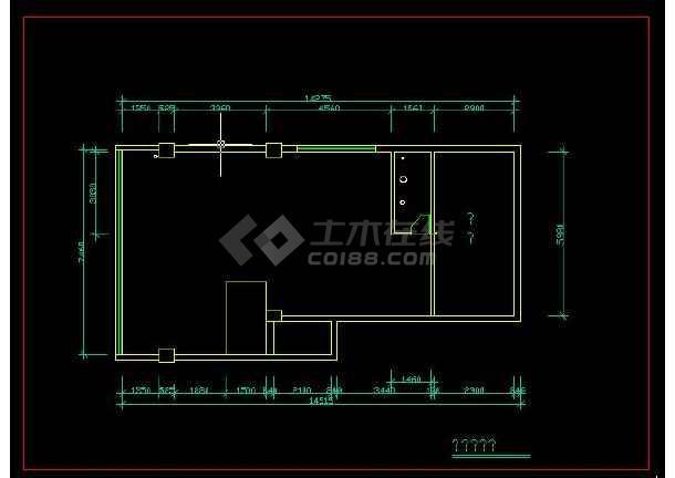 【整合】六套复式别墅建筑施工图纸-图3