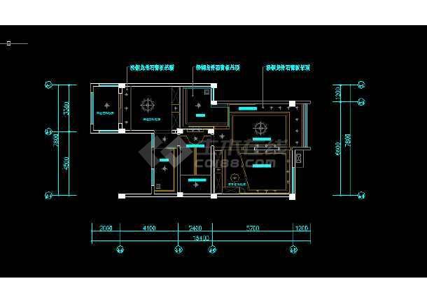 川西民居风格独栋方案v民居全套图纸CAD图纸快速量cad软件别墅好哪个图片