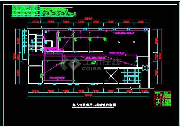 群艺馆ktv包房装修cad施工设计平面图